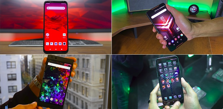 Top 4 gaming mobiles
