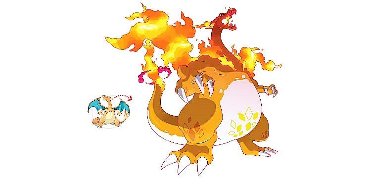Pokémon Sword and Shield - Gigantamax Charizard