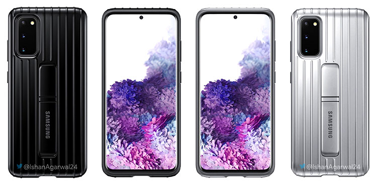 Official Galaxy S20 Covers