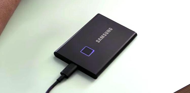T7 Touch external SSD