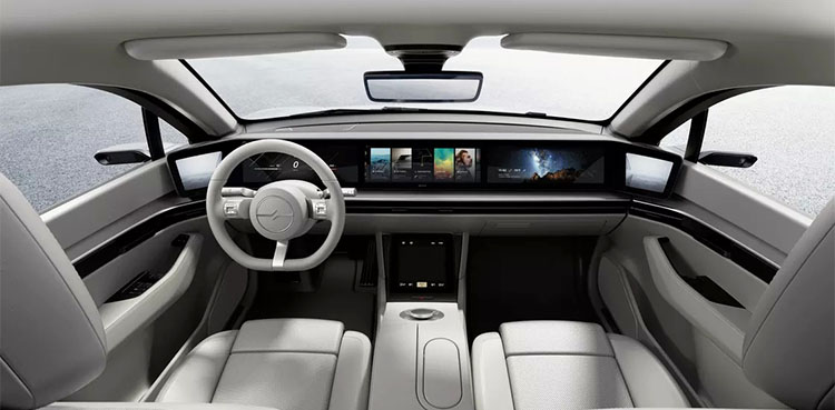 Sony Vison S Electric Car