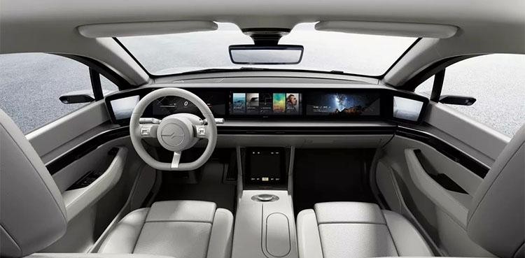 Sony Vison S Electric Car