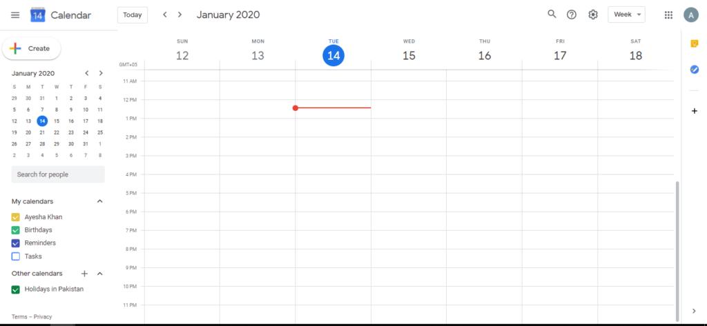 calendar types