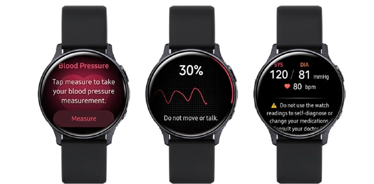 Smartwatch Blood Pressure App