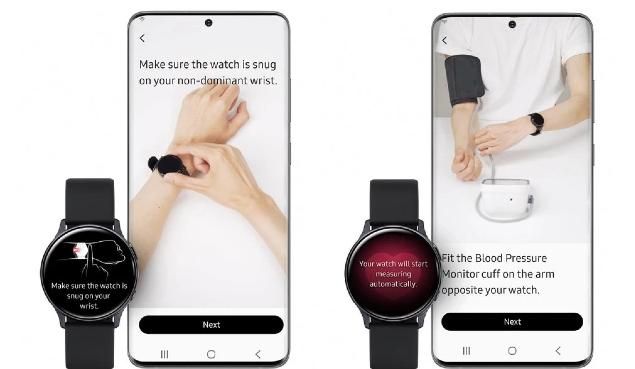 Smartwatch Blood Pressure App