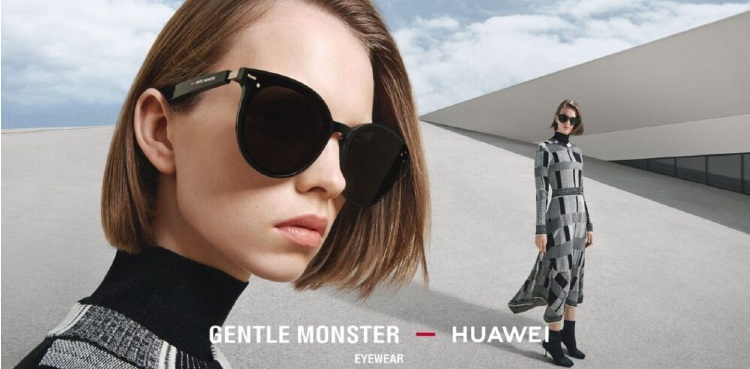 Huawei collaboration Gentle Monster