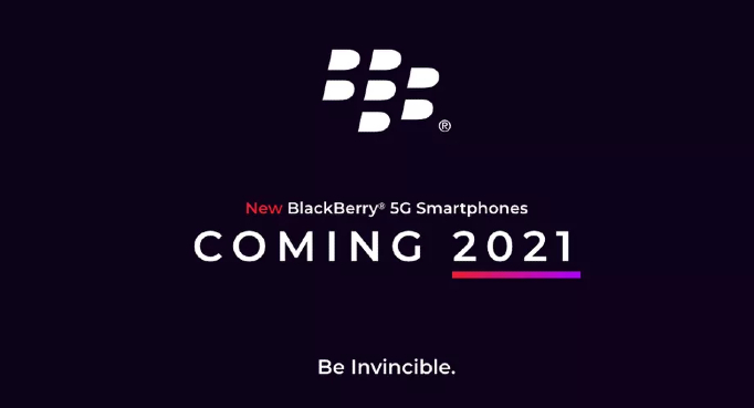 BlackBerry 5G phone