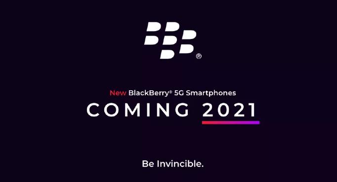BlackBerry 5G phone