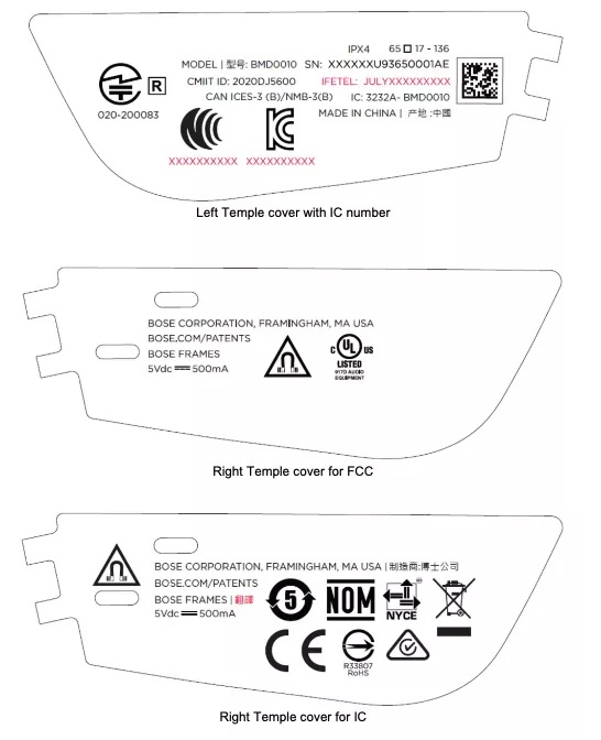 Bose Audio Glasses