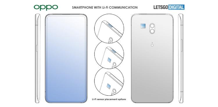 Oppo Li-Fi Smartphone