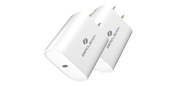 ZeroLemon Fast Charger Android/iPhone