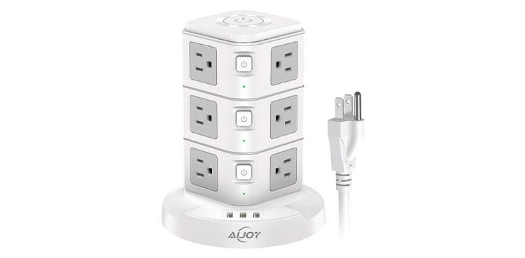 AiJoy USB Power Strip Tower