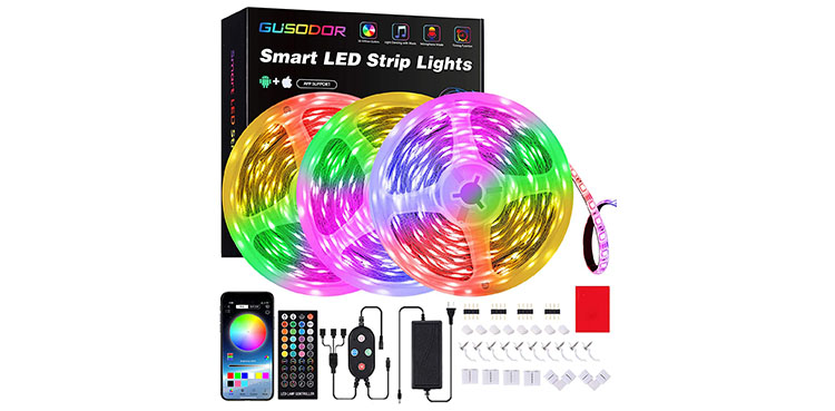 Gusodor Led Strip Lights
