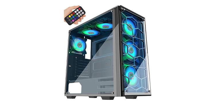 MUSETEX Phantom PC Case