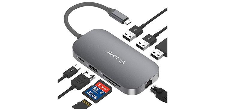 TOTU USB C Hub