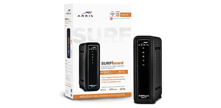 ARRIS SURFboard Gaming Modem