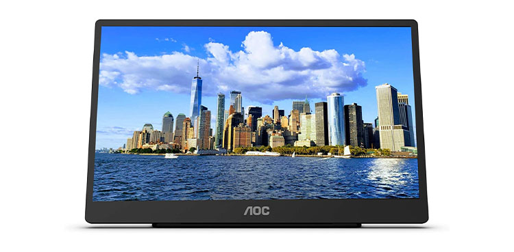 AOC Touch Screen Portable Monitor