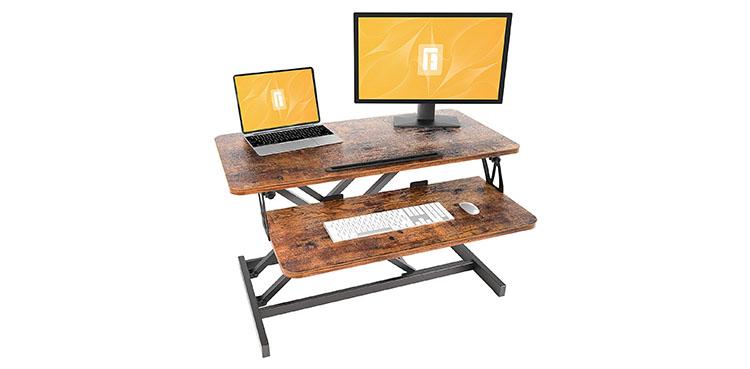 FEZIBO Standing Desk Converter