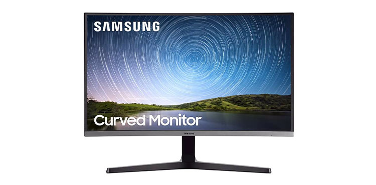 Samsung Frameless Curved Monitor