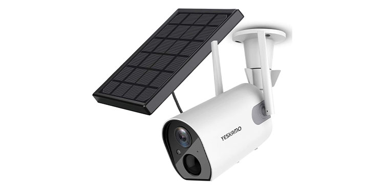 YESKAMO Solar Security Camera