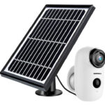 ZUMIMALL Solar Powered Security Camera