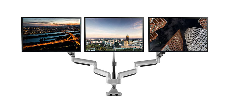 TechOrbits Three Monitor Stand